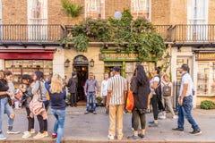 Typowy widok w London zdjęcia royalty free