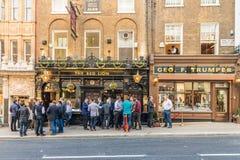 Typowy widok w London zdjęcie royalty free