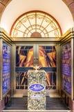 Typowy widok w Soho Londyn obraz royalty free