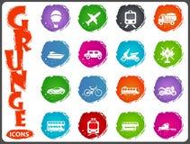 Typse of transport Stock Image