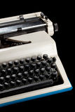 typwritertappning Arkivfoto