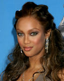 Tyra Banks. 37th NAACP Image Awards Shrine Auditorium Los Angeles, CA February 25, 2006 2006 Kathy Hutchins / Hutchins Photo                     V Royalty Free Stock Photography