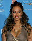 Tyra Banks. 37th NAACP Image Awards Shrine Auditorium Los Angeles, CA February 25, 2006 2006 Kathy Hutchins / Hutchins Photo                     V Stock Photography