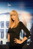 Tyra Banks Wax Figure. Tyra Lynne Banks is an American television personality, former talk show host, producer, author, actress, and former model. Tyra Banks wax Royalty Free Stock Images