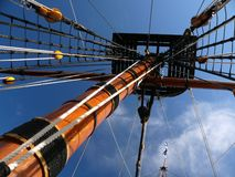 tyrannisera masten Royaltyfria Bilder