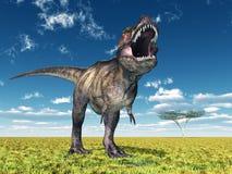 Tyrannosarie Rex royaltyfri illustrationer