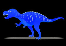 Tyrannosaur - Rex. Big and nice. Prehistorical Jurassic. Dinosaur Vector illustration Royalty Free Stock Photography