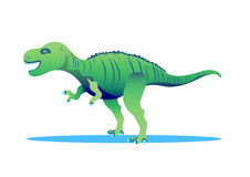 Tyrannosaur - Rex. Big and nice Royalty Free Stock Photos