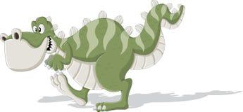 Tyrannosaure de bande dessinée Photographie stock