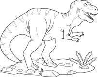 Tyrannosaure Rex illustration libre de droits