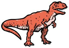 Tyrannosaurus Royalty Free Stock Photo