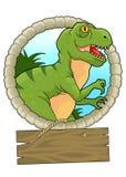 tyrannosaurus Royaltyfri Bild