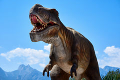 tyrannosaurus fotografie stock