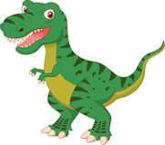 Tyrannosaurus cartoon posing Royalty Free Stock Image