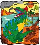 Tyrannosaurus del dinosauro Immagine Stock Libera da Diritti