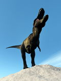 Tyrannosaurus dinosaur - 3D render Royalty Free Stock Photo