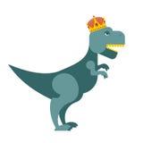 Tyrannosaurus Dinosaur King. T-Rex most important prehistoric mo Stock Image