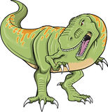 Tyrannosaurus Dinosaur T-Rex Vector Royalty Free Stock Photos