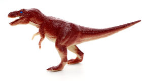 Tyrannosaurus dinosaur toy Royalty Free Stock Photos