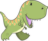 Tyrannosaurus Dinosaur Vector Royalty Free Stock Images