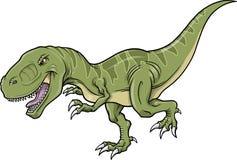 Tyrannosaurus Dinosaur Vector Illustration Stock Photography