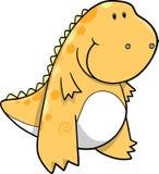 Tyrannosaurus Dinosaur Vector Illustration Stock Photo