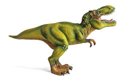Tyrannosaurus, dinosaurs toy  with clipping path. Stock Image