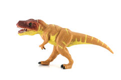 Tyrannosaurus dinosaurs toy Stock Photography