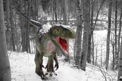 tyrannosaurus royalty-vrije stock afbeelding