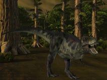tyrannosaurus för dinosaur 3d Fotografering för Bildbyråer