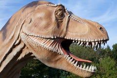 tyrannosaurus för dinosaurreptilrex arkivfoton