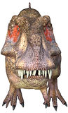 Tyrannosaurus frontal face Royalty Free Stock Photos