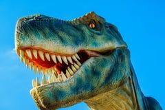 Tyrannosaurus in Novi Sad Dino Park Stock Images