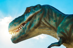 Tyrannosaurus in Novi Sad Dino Park Royalty Free Stock Photo