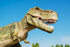 Tyrannosaurus in Novi Sad Dino Park Stock Photography