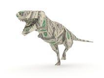 Tyrannosaurus Rex di Origami Immagine Stock Libera da Diritti