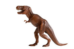 Tyrannosaurus rex dinosaura klingerytu zabawka Obrazy Stock