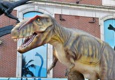 Tyrannosaurus Rex dinosaura szalkowy model Fotografia Stock