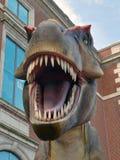 Tyrannosaurus Rex dinosaura szalkowy model Zdjęcia Stock