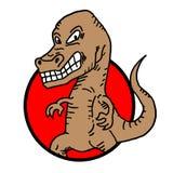 Tyrannosaurus rex icon Stock Photos
