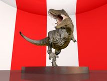Tyrannosaurus Rex in the museum Stock Photography