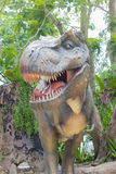 Tyrannosaurus rex in the public park, Thailand Royalty Free Stock Photo