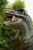 Tyrannosaurus Rex. Sculpture in live size Royalty Free Stock Image