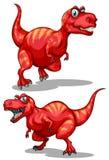 Tyrannosaurus rex with sharp teeth Stock Photo