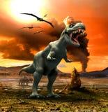 Tyrannosaurus stock illustration