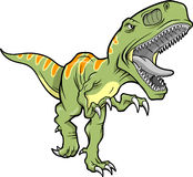 Tyrannosaurus vector Royalty Free Stock Image