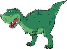 Tyrannosaurus. On a white background Stock Images