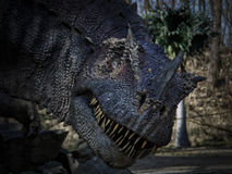 Tyrannosaurus in the Woods - Dinopark Stock Photography