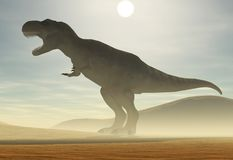 Tyrannosaurussen Royalty-vrije Stock Foto