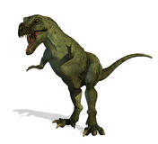 Tyrannosaurussen Rex 2 vector illustratie